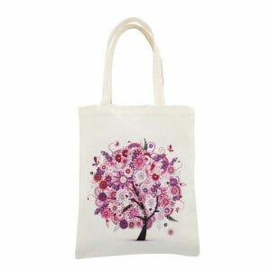 Pink Tree - Diamond Art Bag