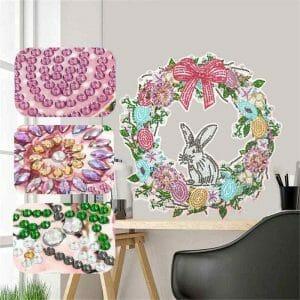 Rabbit - Diamond Painting Garland
