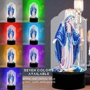 Religious - Diamond Painting Lamp