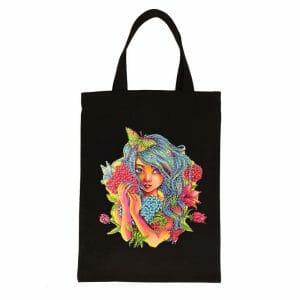 Cute Girl - Diamond Painting Bag