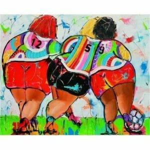 Playing Fat Ladies Football