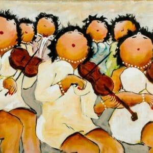 The artists - Plump women