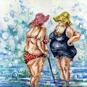 Old Fat Ladies Talk